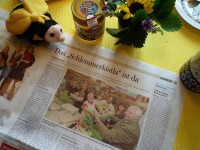 """FT-Artikel übers Schlemmerkistla (bei Anne """"REWE-Rudel"""")"""
