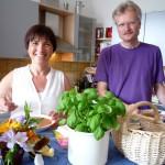 Gastgeber Ilona und Reinhold