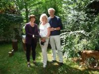 Übergabe der Patenurkunde für Jakob Janßen (in memoriam)