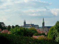 Blick auf Bamberg vom Stephansberg aus