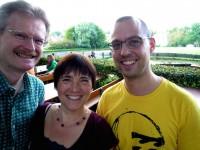 Reinhold Burger, Ilona Munique und Daniel Schiller
