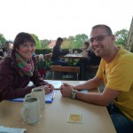 Bienenpateninterview Ilona Munique mit Daniel Schiller