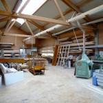 Werkstatthalle Holzbau Friedmann, Hallerndorf-Schlammersdorf