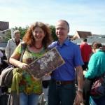 Bienenfreunde Elke und Thomas Puchtler
