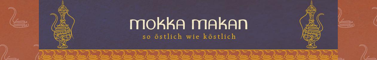 Mokka makan Schwan, Bordüre von Webseite