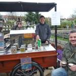 Mokka-Makan-Espressowagen am Tag der offenen Gärtnereien 2013