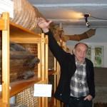 Museumskurator Wolfgang Mittwoch im Zeidel-Museum Feucht