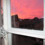 Morgenröte in Bamberg