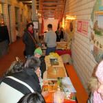 Aktionsbereich (Basteln, Malen, Fackeln anfertigen) im Boscolino Kinderhort