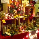 Unser kleiner Marktstand am Don Bosco-Kunsthandwerker-Weihnachtsmarkt 2013