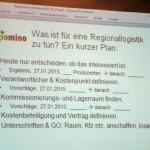 Folie Regionallogistikplan für Regiomino © Volker Heise