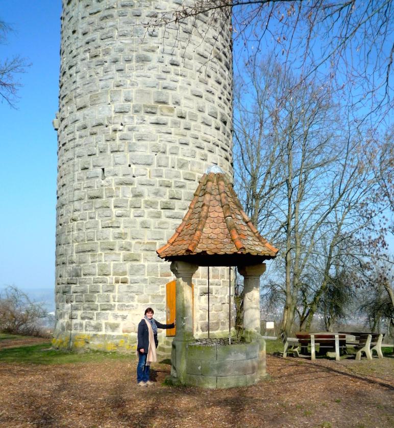 Wallburgturm in Eltmann