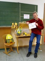 Schulimker Reinhold in der Wunderburgschule
