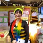 Bamberger Schulbiene freut sich auf Besucher der Gesundheitsmesse 2015