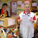 Schulbiene mit Glücksfee Anne Rudel