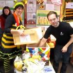 Schulbiene mit Glücksfee Arno Schimmelpfennig
