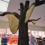 Killerbienen-Nest in der Ausstellung