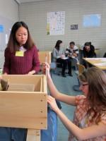 Workshop Beuten bemalen und betriebswirtschaftliches Rechnen
