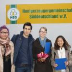 Wirtschaftsschüler im Betriebshof der HEG, Eltmann (Foto von Wirtschaftsschule)