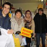 Wirtschaftsschüler im Verkaufsraum der HEG, Eltmann (Foto von Wirtschaftsschule)