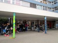 Eingang zur Wirtschaftsschule Bamberg