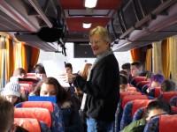 Reinhold im Bus