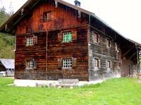 Hütte in Linderhof, Allgäu