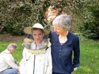 Gabi Loskarn mit Enkel Lennart