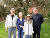 Reinhold Burger, Gabi Loskarn, Lennart und Horst Drechsel