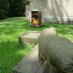 Patenbienenvolk im Skulpturengarten der Villa Dessauer, Bamberg