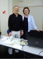 Karl Fischer und Marianne Gebert, Agenda 21-Büro der Stadt Bamberg