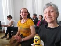 Sitzungsbegleiterinnen Manuela Wehr und Gabi Loskarn