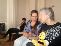 Sitzungsbegleiterinnen Claudia Meyer und Gabi Loskarn