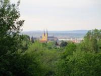 Blick zur St. Michaelskirche in Bamberg
