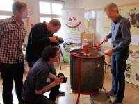 Honigschleudern für WISO