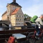 Ablegertransport von Wildensorg über Altes Rathaus Bamberg zur Villa Dessauer