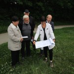 Munique zeigt Bauplan der Bienen-InfoWabe