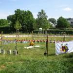 3265-Spatenstich-Bienen-InfoWabe-vorbereitet