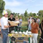 Empfangssponsoren Bäcker Thomas Loskarn und Mokka makan