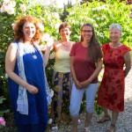 Dr. Elke Puchtler, Ilona Munique, Jeannette Frank, Gabriele Loskarn