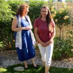 Elke Puchtler und Jeannette Frank