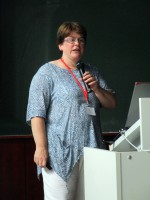Dr. Ingried Illies, stv. Leiterin des Fachzentrums Bienen der LWG