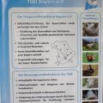 Plakat des Bienengesundheitsdienst im TGD Bayern e. V.