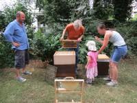 Lehrbienenstand Weide, zugleich Patenbeute von Jakob Janßen (Contag)