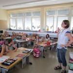 Schüler der 1a Lichteneiche-Schule Memmelsdorf