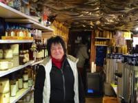 Simone Machinek am Weihnachtsmarkt Bamberg 2014