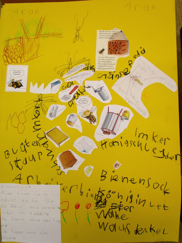 Lernplakat der 1b, Lichteneicheschule Memmelsdorf