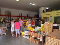 Betriebshalle, Imkershop HEG