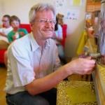 Honigsommelier Reinhold Burger