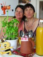 Freundinnen: Jutta und Ilona